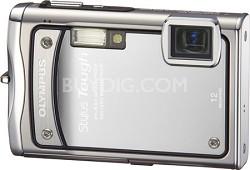 "Stylus Tough 8000 12MP 2.7"" LCD Digital Camera (Silver) - Refurbished"