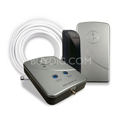 Desktop Adjustable Gain Cell Phone Signal Booster for Home/Office-Multiple Users