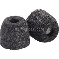 SX-200 Sport Plus Earphone Tips (Small, Black, 2-Pair)