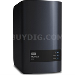 My Cloud EX2 10 TB Personal Cloud Storage - OPEN BOX