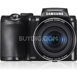 WB100 16MP 26x Optical Zoom Black Digital Camera