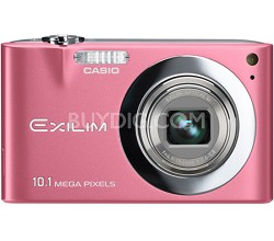 "Exilim EX-Z100 10.1MP Digital Camera with 2.7"" LCD (Pink)"