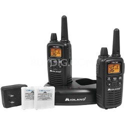 36-Channel GMRS Radio Pair Pack w/ Charger & Rechargeable Batteries - LXT600VP3
