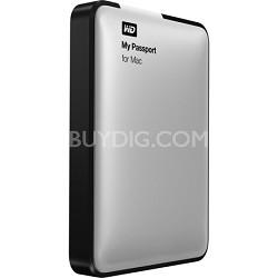 My Passport for Mac 2TB Portable External Hard Drive Storage USB 3.0 - OPEN BOX