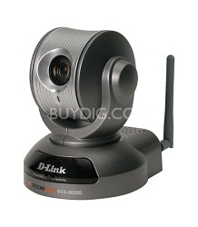 Wireless IP Cam, CCD, 0.05 Lux, Pan/Tilt/Zoom, 10x Opt Zm, MPG4/MJPG, 2-W Aud.