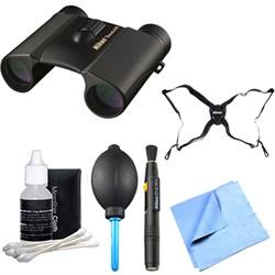 8218 10x25 Trailblazer ATB Hunting Binoculars Explorer Bundle