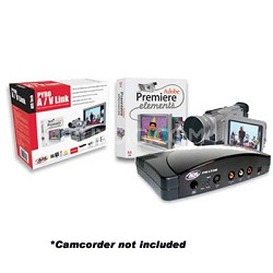 Pyro A/V Link Pro - Analog to DV Converter with Adobe Premiere Elements 2.0