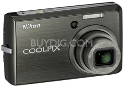 Coolpix S600 Digital Camera (Slate Black)