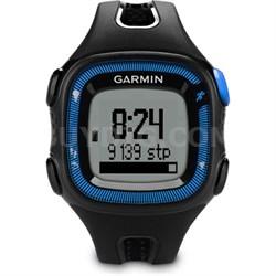 Forerunner 15 Activity Tracker GPS Running Watch, Large (Blue) - Refurbished