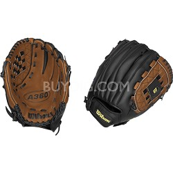 A360 Youth Baseball Glove - Right Hand Throw - Size 12""