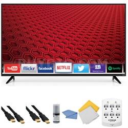 E55-C1 - 55-Inch 1080p 120Hz Smart LED HDTV + Hookup Kit