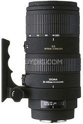 Telephoto Zoom 80-400mm f/4.5-5.6 EX DG APO OS AF Lens for Nikon AF-D