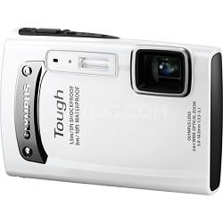 Tough TG-310 14 MP Waterproof Shockproof Freezeproof Digital Camera - White