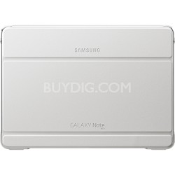 2014 Edition White Book Cover for Galaxy Note 10.1