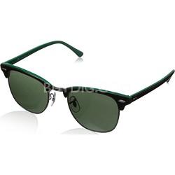 RB3016  Black 51MM Classic Clubmaster Sunglasses