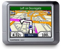 nuvi 270 Portable GPS navigation w/ maps for North America and Europe