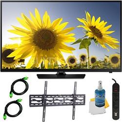 UN40H4005 - 40-Inch HD 720p Slim LED TV CMR 60 Plus Tilt Mount & Hook-Up Bundle