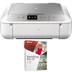 PIXMA MG5722 Wireless Inkjet All-In-One Printer w/ Corel PaintShop Pro X8 Bundle