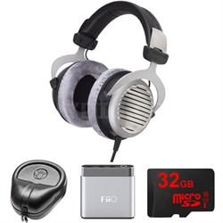 DT 990 Premium Headphones 250 OHM - 481807 w/ FiiO A1 Amp. Bundle
