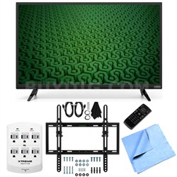 D32h-C0 - 32-Inch 60Hz HD 720p LED HDTV Flat/Tilt Wall Mount Bundle