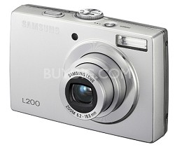 "L200 10MP 2.5"" LCD Digital Camera (Silver) NEW OPEN BOX"