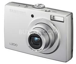 """L200 10MP 2.5"""" LCD Digital Camera (Silver) NEW OPEN BOX"""