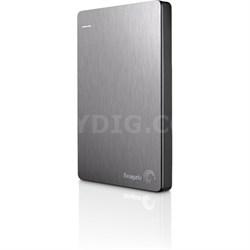 Backup Plus 500GB Portable External Hard Drive w/ Mobile Backup Slvr - OPEN BOX