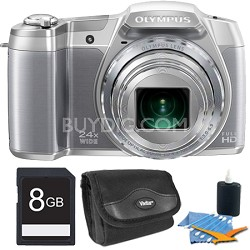 Olympus Stylus SZ-16 16MP Digital Camera Kit