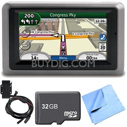 zumo 660 Motorcycle GPS With Lifetime Map Updates Motorcycle Mount Bundle