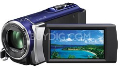 HDR-CX210 HD Camcorder 8GB Camcorder w/ 25x Optical Zoom (Blue)