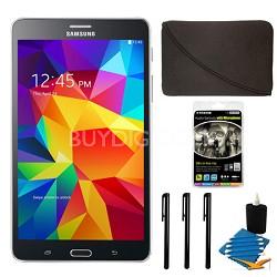 "Galaxy Tab 4 Black 8GB 7"" Tablet and Case Bundle"