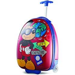 """18"""" Upright Kids Disney Themed Hardside Suitcase - Mickey"""