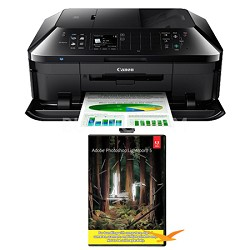 PIXMA MX922 Wireless Inkjet Office All-In-One Printer w/ Photoshop Lightroom 5