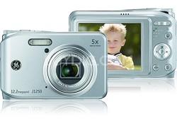 J1250 12MP Smart Series Digital Camera (Silver)