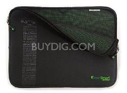"Eco-Friendly Neogreene Sleeve - 10"" Netbook / Ipad  (Black)"