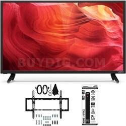 E48-D0 - 48-Inch SmartCast Full-Array LED 1080p HDTV Flat/Tilt Wall Mount Bundle