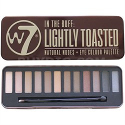 Naked - 2 -Buff Natural Bronze Toasted 12 PC Palette W/ free organic Brush