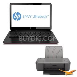 """ENVY 14.0"""" 4-1038nr Ultrabook PC - Intel Core i5-3317U 1.70 GHz - Printer Bundle"""