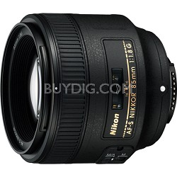 85mm f/1.8G AF-S NIKKOR Lens for Nikon Digital SLR Cameras (2201)
