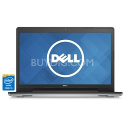 "Inspiron 17 17.3"" Touch HD i5748-7143sLV Notebook PC - Intel Core i5-4210U Proc."
