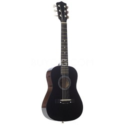 "LAPKMBL 30"" Student Acoustic/Electric Guitar Package - Metallic Black"