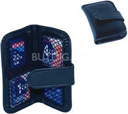 Memory Card Wallet - media storage bi-fold case for four memory cards