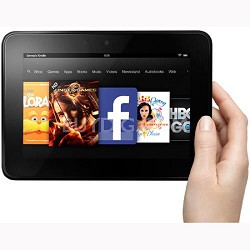 "Kindle Fire HD 7"" HD Display, Wi-Fi, 16 GB"