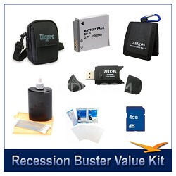 Recession Buster Value Kit for Canon Powershot SX500,SX510,SX700,D30,S95  SX280