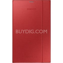 Tab S 8.4 Book Cover - Glam Red