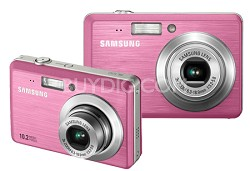 "SL102 10MP 2.5"" LCD Digital Camera (Pink)"