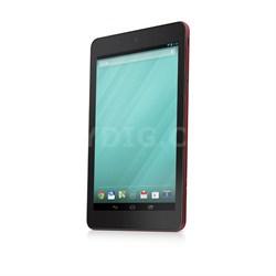 "Tablet v8TBL-3334RED 8"" 16GB Intel Atom Z3480 Processor Tablet (Red) - OPEN BOX"