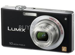 DMC-FX35K - Slim Compact 10PM Digital Camera (Black) w/ 2.5- inch LCD - OPEN BOX