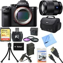 a7S II Full-frame Mirrorless Interchangeable Lens Camera 24-70mm Lens Bundle