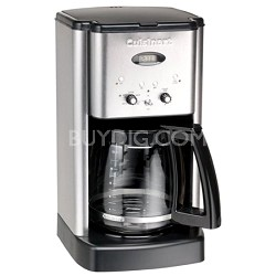 DCC-1200 Brew Central 12 Cup Programmable Coffeemaker (Silver)